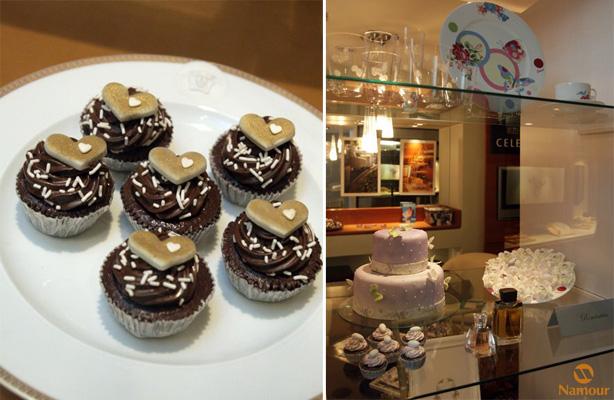 Cupcake em Evento Renaissance Hotel | Confeitaria da Luana