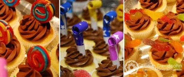 Cupcakes Kids   Confeitaria da Luana