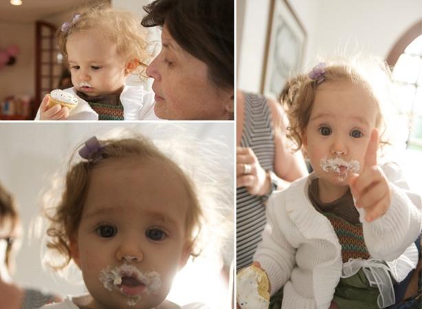 Cupcakes para Bebê Menina | Confeitaria da Luana