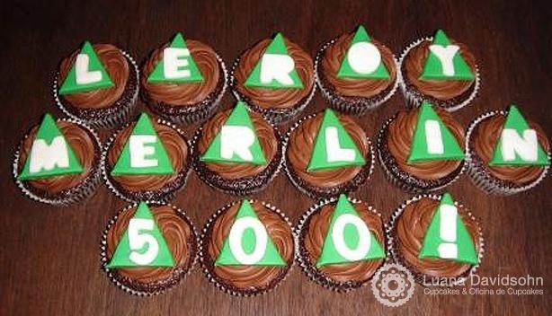 Cupcake Leroy Merlin | Confeitaria da Luana