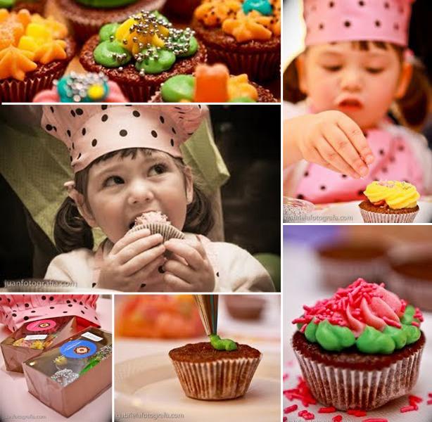 Oficina de Cupcakes 3 anos | Confeitaria da Luana