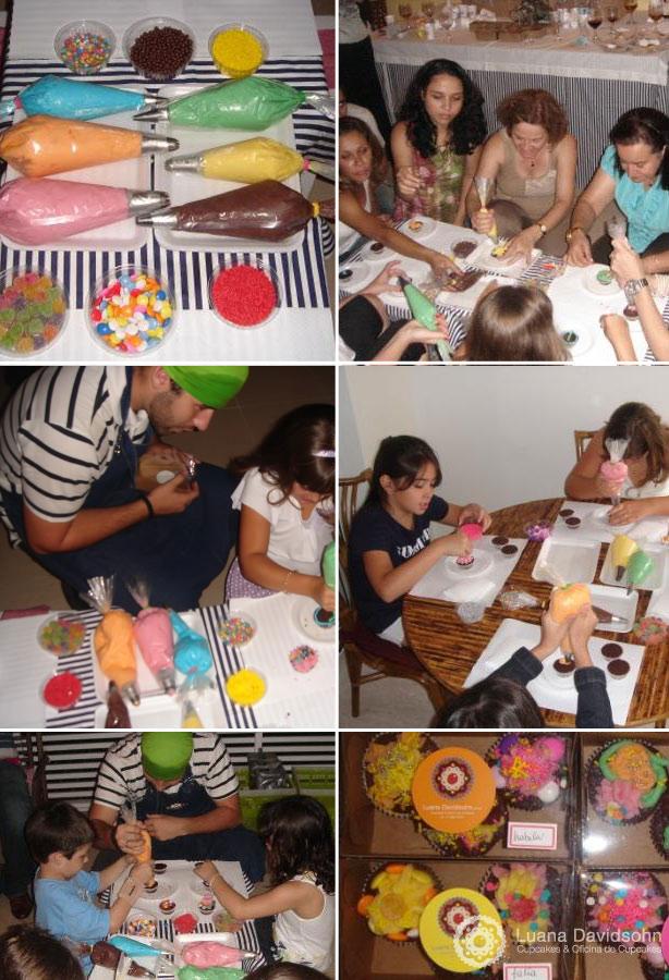 Oficina de Cupcakes das Mulheres | Confeitaria da Luana