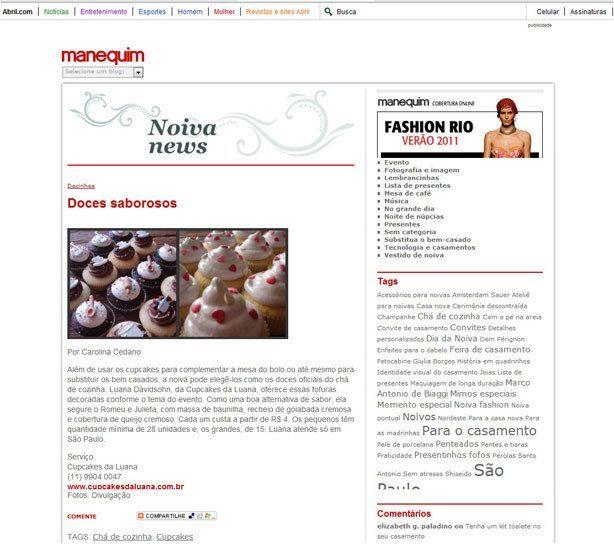 Confeitaria da Luana   Revista Manequim