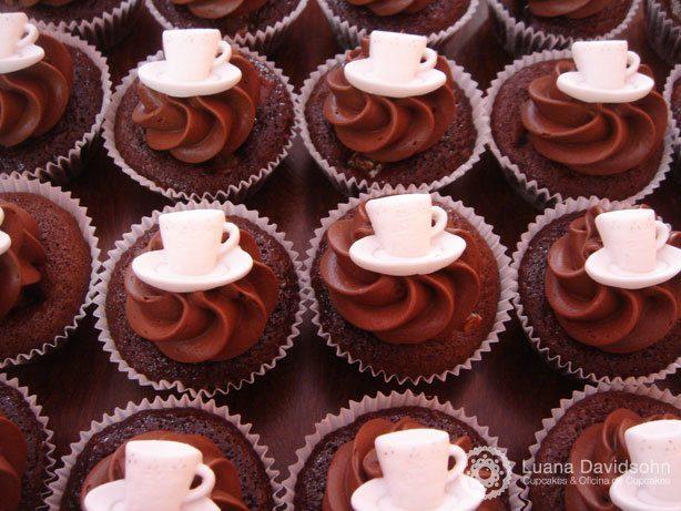Cupcake Chá da Tarde | Confeitaria da Luana