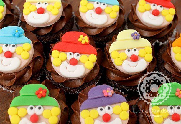 Cupcake de Circo | Confeitaria da Luana
