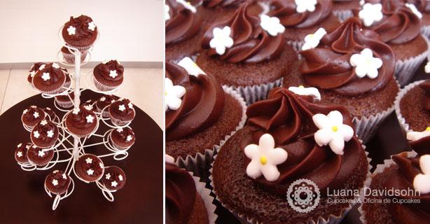 Cupcake para Casamento Branco | Confeitaria da Luana