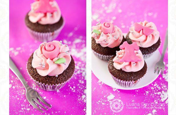 Cupcake Dia da Mulher | Confeitaria da Luana