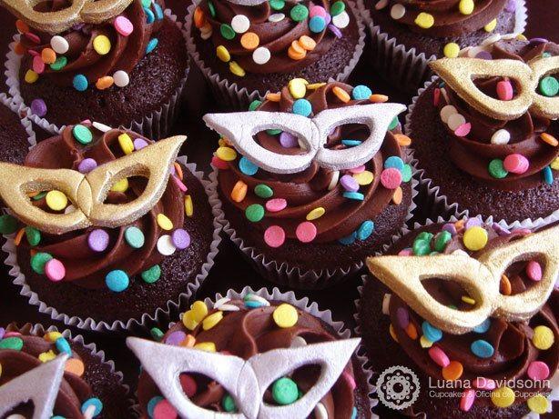 Cupcake Carnaval Folia | Confeitaria da Luana