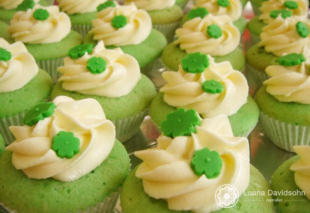 Cupcake St. Patrick´s Day | Confeitaria da Luana