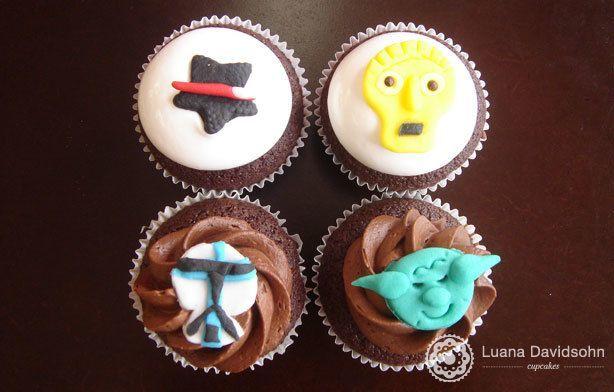 Cupcakes de Star Wars | Confeitaria da Luana