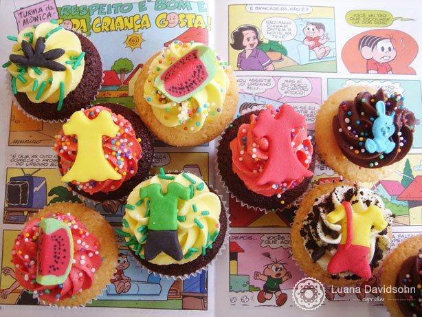 Cupcake Turma da Monica