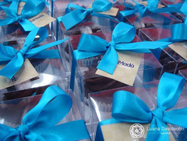 Cupcake Brinde Lançamento imobiliário   Confeitaria da Luana