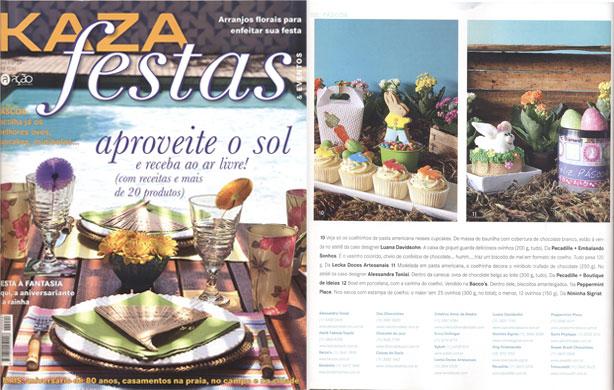 Kaza Festas Confeitaria da Luana | Confeitaria da Luana