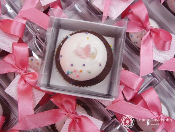 Cupcake Borboleta Festa de Menina