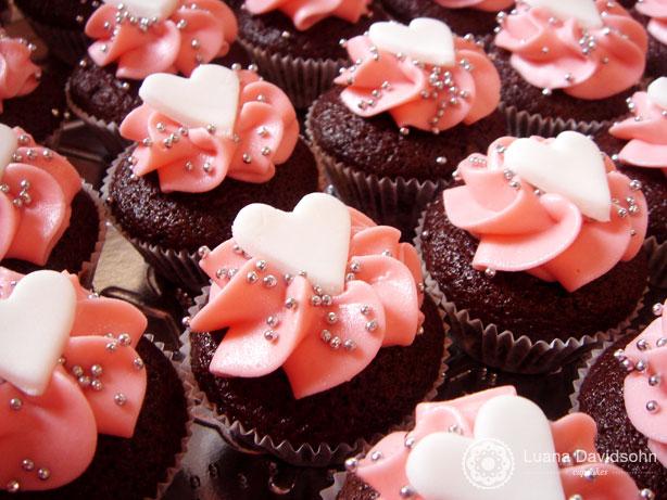 Cupcake de Maternidade | Confeitaria da Luana