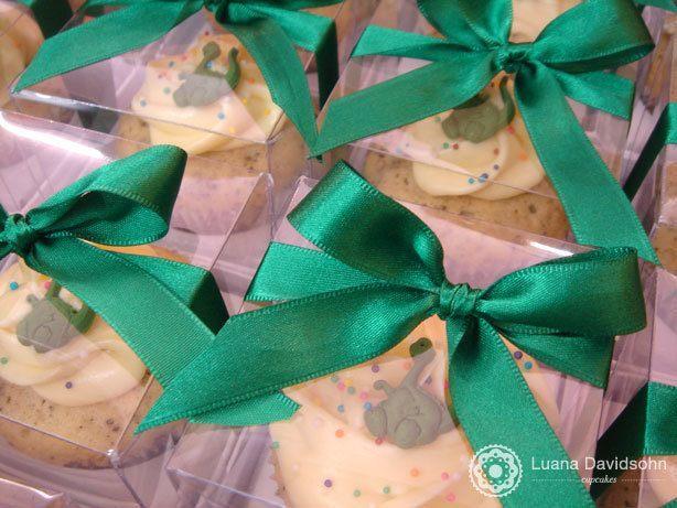 Festa com Cupcake de Dinossauro | Confeitaria da Luana
