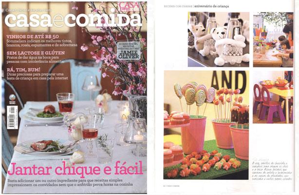 Revista Casa e Comida | Confeitaria da Luana