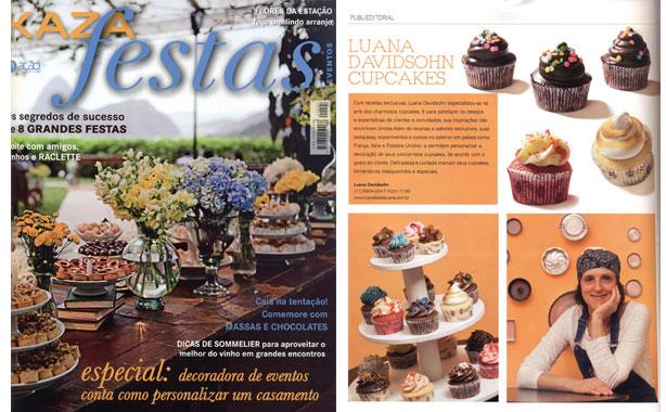 Kaza Festas – setembro | Confeitaria da Luana