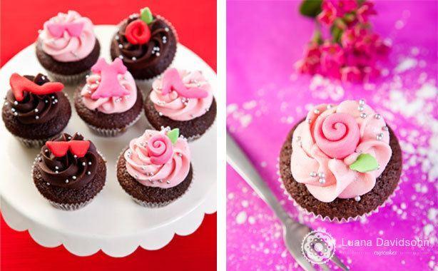 Cupcake Dia da Secretária | Confeitaria da Luana