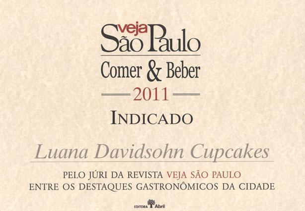 Prêmio Veja Comer e Beber | Confeitaria da Luana