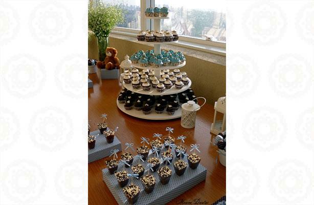 Chá de Bebê Mesa de doces linda | Confeitaria da Luana