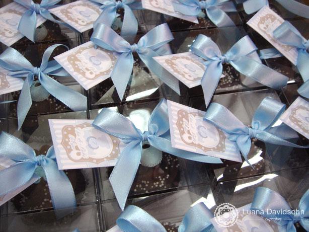 Cupcake para Chá de Bebê do Felipe | Confeitaria da Luana