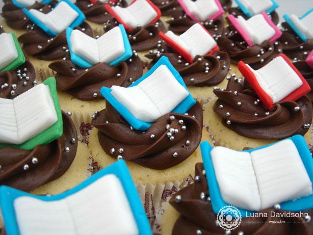 Cupcake Dia do Professor | Confeitaria da Luana