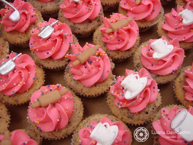 Cupcake Chá de Cozinha Negresco