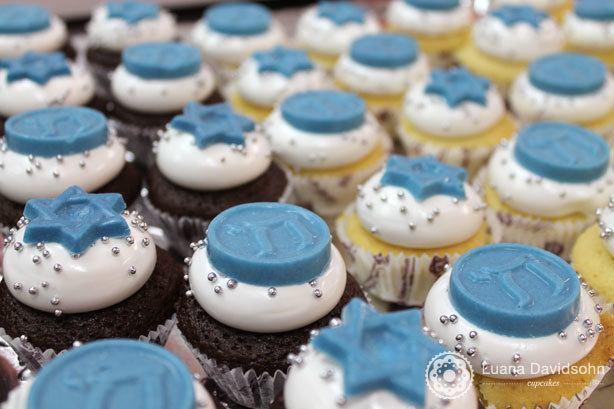 Cupcakes Judaicos de Chanukah | Confeitaria da Luana