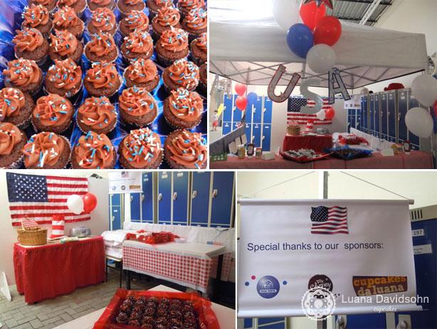 Festa USA | Confeitaria da Luana