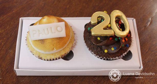 Cupcake de Presente Shopping Eldorado | Confeitaria da Luana