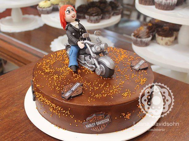 Bolo Harley Davidson | Confeitaria da Luana