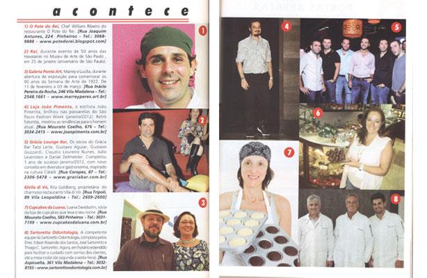 Revista Achei na Vila! | Confeitaria da Luana