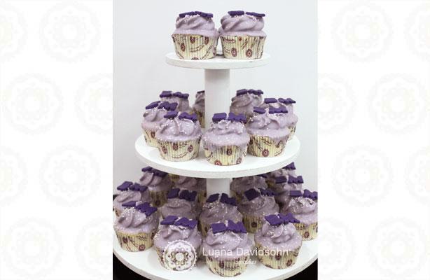 Cupcake para Casamento Babi e Marcelo   Confeitaria da Luana