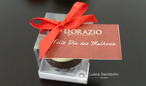 Cupcakes Dia da Mulher Flores