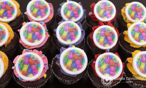 Cupcakes Backyardigans | Confeitaria da Luana