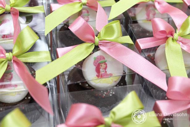 Confeitaria da Luana | Cupcake da Moranguinho