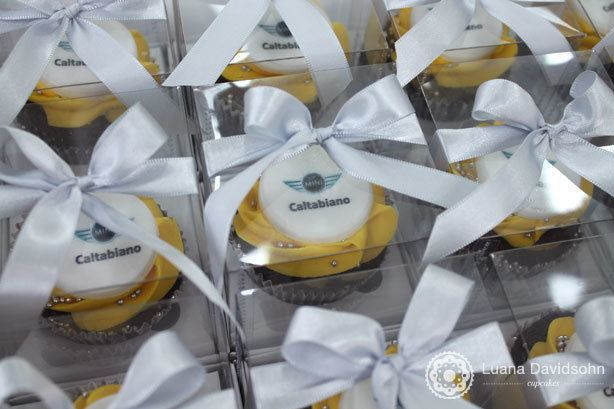 Cupcake Ação Corporativa Caltabiano