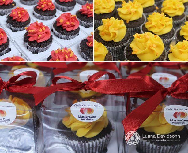 Cupcake Dia das Mães Mastercard | Confeitaria da Luana