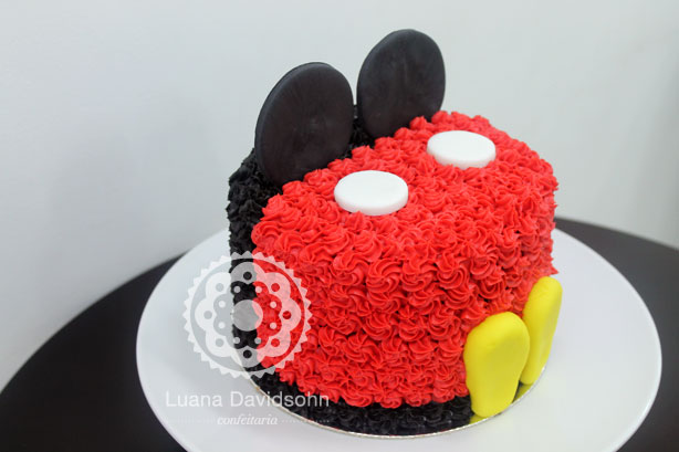 Bolo Decorado do Mickey | Confeitaria da Luana