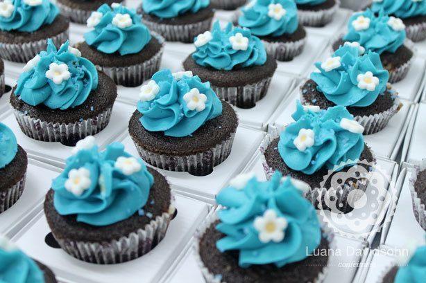 Cupcake Debutante Jardim de Inverno | Confeitaria da Luana