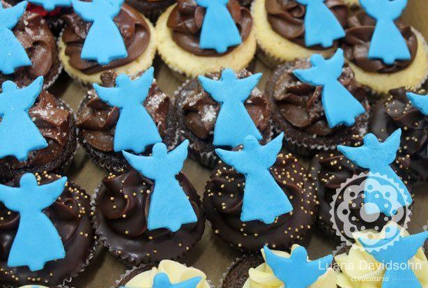 Cupcakes de Batizado | Confeitaria da Luana