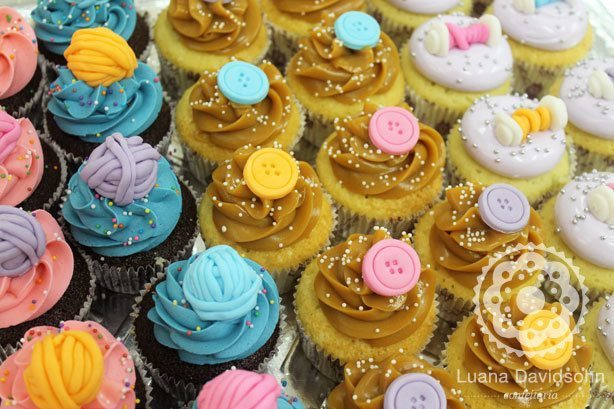 cupcake costura