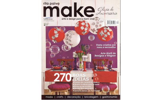 Revista Make com Cupcakes | Confeitaria da Luana
