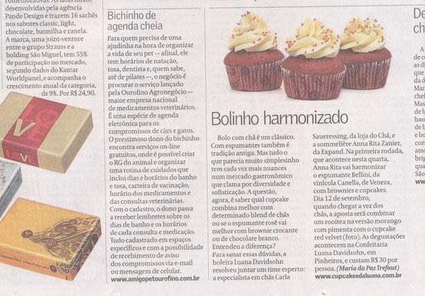 Harmonização Chá com Cupcakes | Confeitaria da Luana
