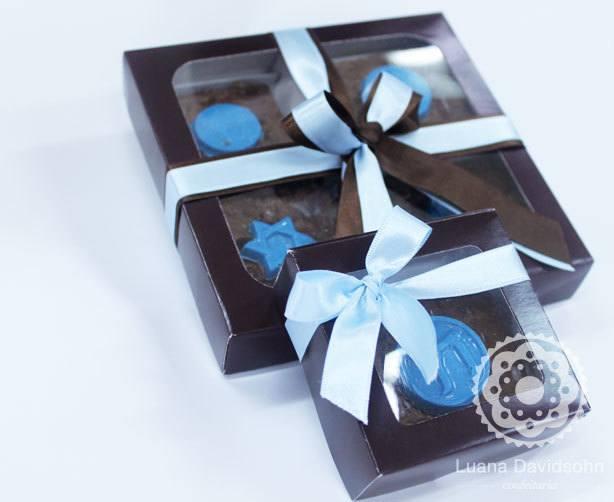 Doce para Festa Judaica: brownies! | Confeitaria da Luana