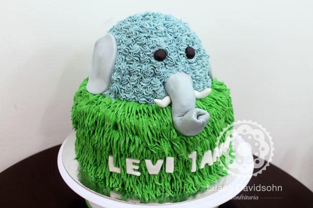 Bolo Elefante | Confeitaria da Luana