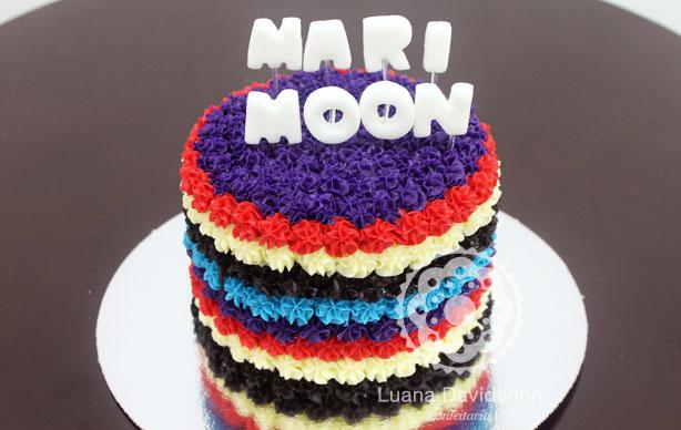 Aniversário Mari Moon | Confeitaria da Luana