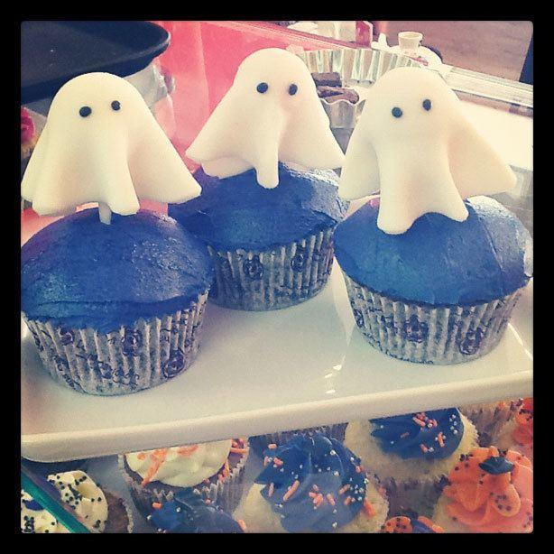 Cupcake de Fantasma | Confeitaria da Luana