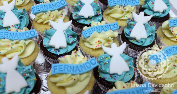 Batizado do Fernando | Confeitaria da Luana